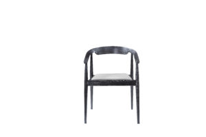 Faux Leather Elm Concise Troditional Chair