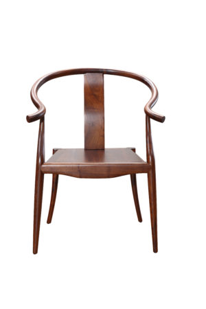 Wooden Walnut Vantage Traditional Chair