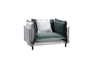 Charming Gallo Olive Armchair
