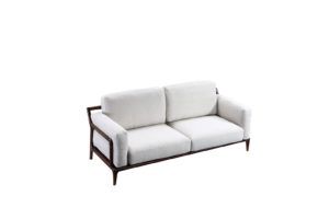Bruni 3 Seats Light Grey Sofa