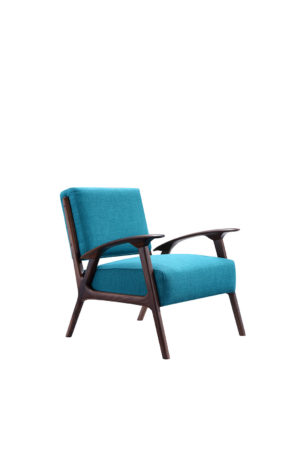 Bruni Artistic Turquoise Armchair
