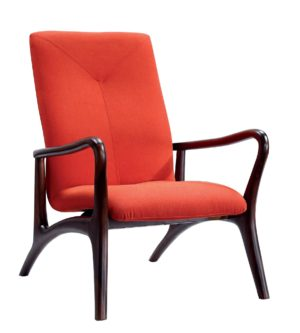 Bruni Artistic Red Armchair