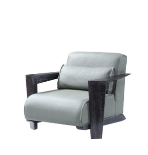 Bruni Cozy Grey Armchair
