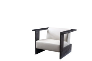 Bruni Aulic Light Grey Armchair