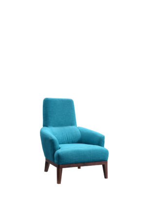 Cozy Blue Armchair