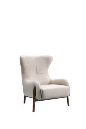 Settle Light Grey Armchair