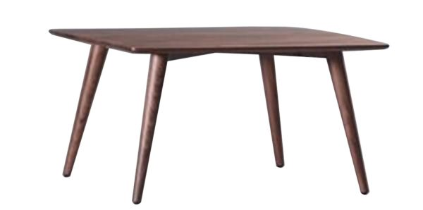 Brown North American Walnut Rectangular Coffee Table